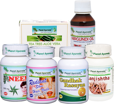 Buy Planet Ayurveda Skin Care Pack