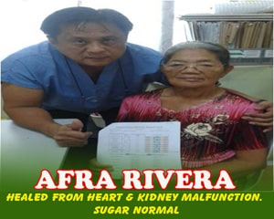 Afra Rivera (Healed from Heart & Kidney Malfunction)