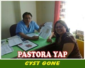 Pastora Yap (Cyst Gone)