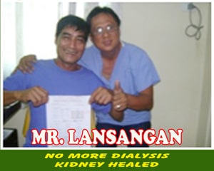 Mr. Lansangan (Kidney Healed)