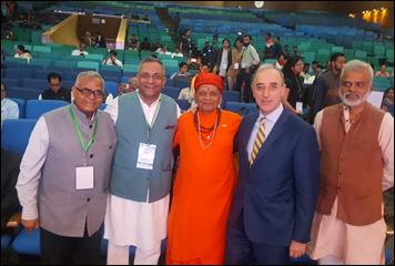 Dr. Madan Gulati At 8th World Ayurveda Congress At Gujarat University, Ahmedabad