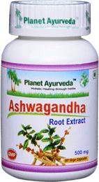 Ashwagandha Capsules - Natural Remedies for schizophrenia