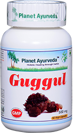 Guggul Capsules - Uses, Benefits, Natural Supplement, Herbal