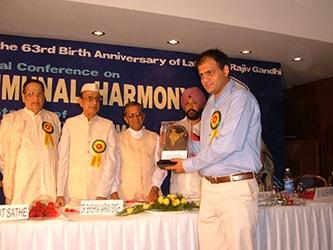 Dr. Vikram Chauhan, ayurveda, best ayurvedic doctor, rajiv gandhi national award