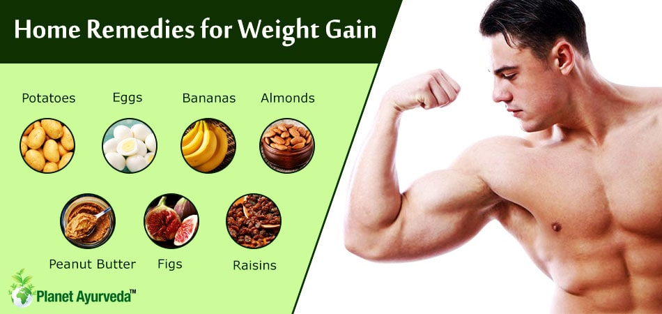 Weight Gain Home Remedies