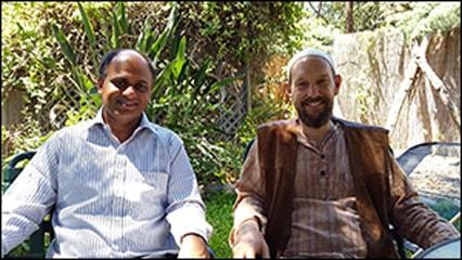 Dr. vikram chauhan with khabir southwick