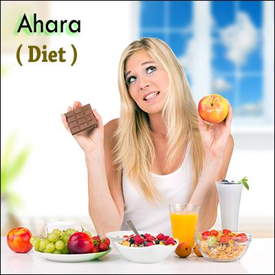 Ahara, diet