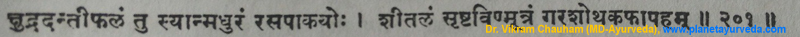 Ancient verse about Danti