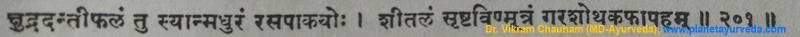 Ancient verse about Danti