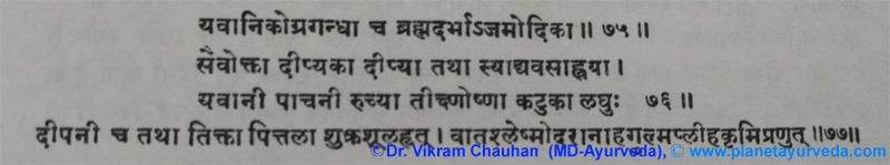 Ancient Verse About Yavani