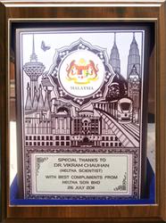 Dr. Vikram Chauhan, awards, ayurveda, best ayurvedic doctor, malaysia award