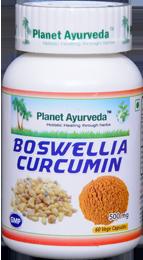 Boswellia-Curcumin capsules