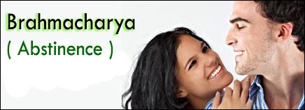 brahmacharya, abstinence