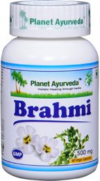 Buy Planet Ayurveda Brahmi Capsules