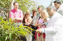 Dr. Madan Gulati with British Doctors