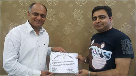 Dr. Vikram Chauhan with Dr. Pardeep Chopra