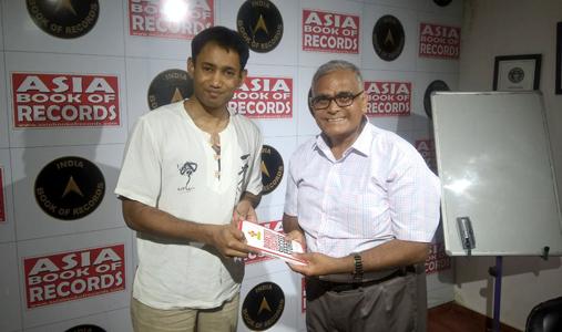 Dr. Biswaroop Roy Chowdhury is presenting The Ist Copy of the Book - Diabetes Educators' Success Stories