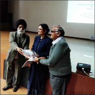 Dr Madan Gulati with Dr Vanita Suri and Dr Amarjeet Singh