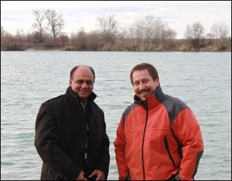 Dr. Vikram Chauhan with Slovakian Distributor in Bratislava