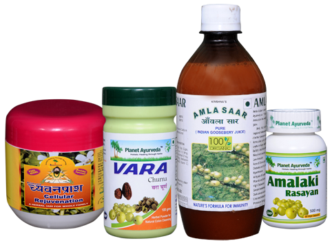 Herbal Supplements made from Amla Fruit