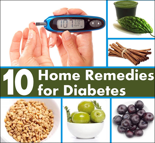 10 Home Remedies for Diabetes