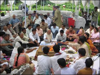 Dr. Vikram Chauhan during International Conference on Ayurveda in Varanasi