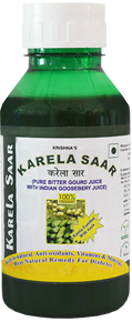 Bittergourd juice, Karela Saar