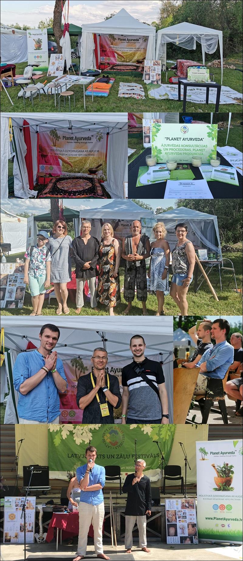latvian sauna and medicine festival, ayurveda in lavia