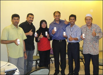 Launch of Planet Ayurveda Products in Malaysia
