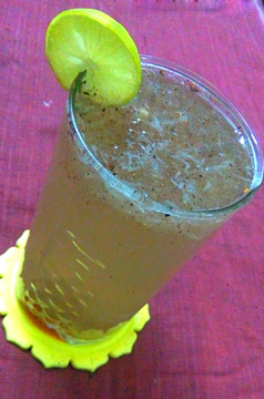 Lemon Juice with Gond Katira