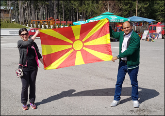 Dr. Vikram Chauhan, Love for macedonia