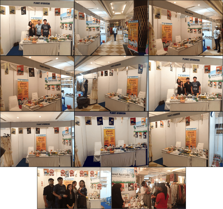 Planet Ayurveda in Summer Fest 2019 By Trends Exhibition, Ludhiana