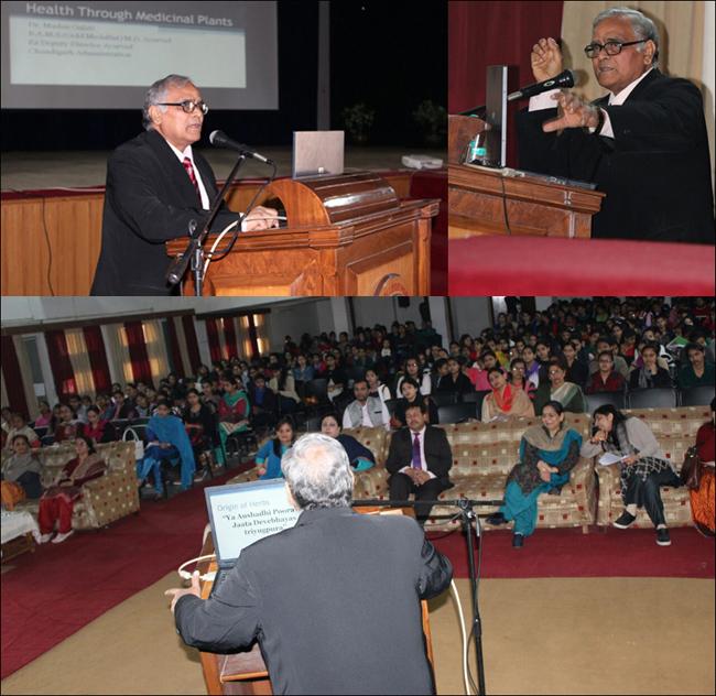 Dr. Madan Gulati During Lecture