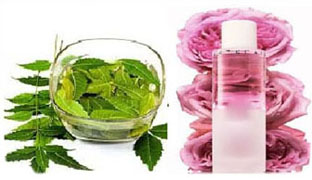 Neem and Rose Water Pack