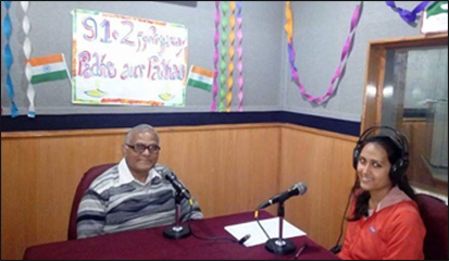 Interview of Dr. Madan Gulati for Radio Channel - 91.2 FM on Topic of Ayurveda
