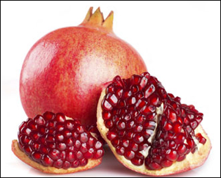 Pomegranate, Punica Granatum, Anaar