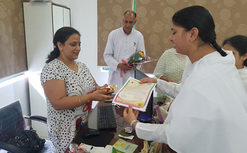 Raksha Bandhan Celebration in Planet Ayurveda