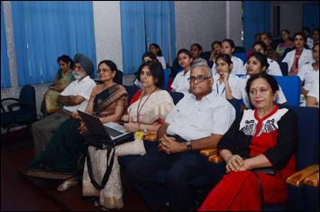 Dr. Madan Gulati attending the Seminar on PCOS at PGIMER, Chandigarh