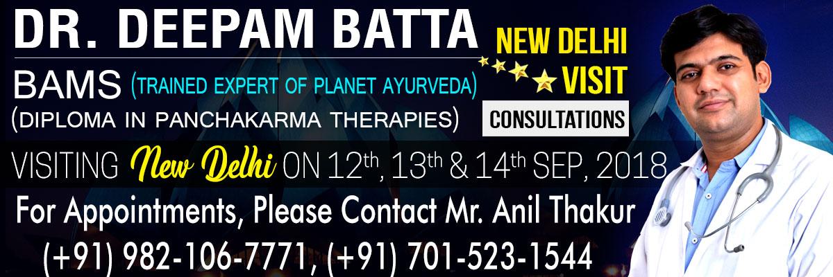 Ayurveda, Consultations, New Delhi