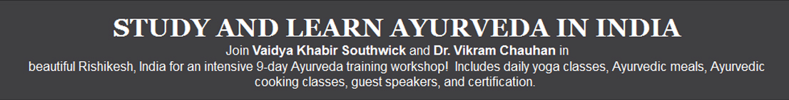 9-Days Ayurvedic Practitioner Workshop