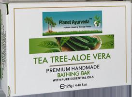 Tea Tree-Aloe Vera Premium Handmade Bathing Bar