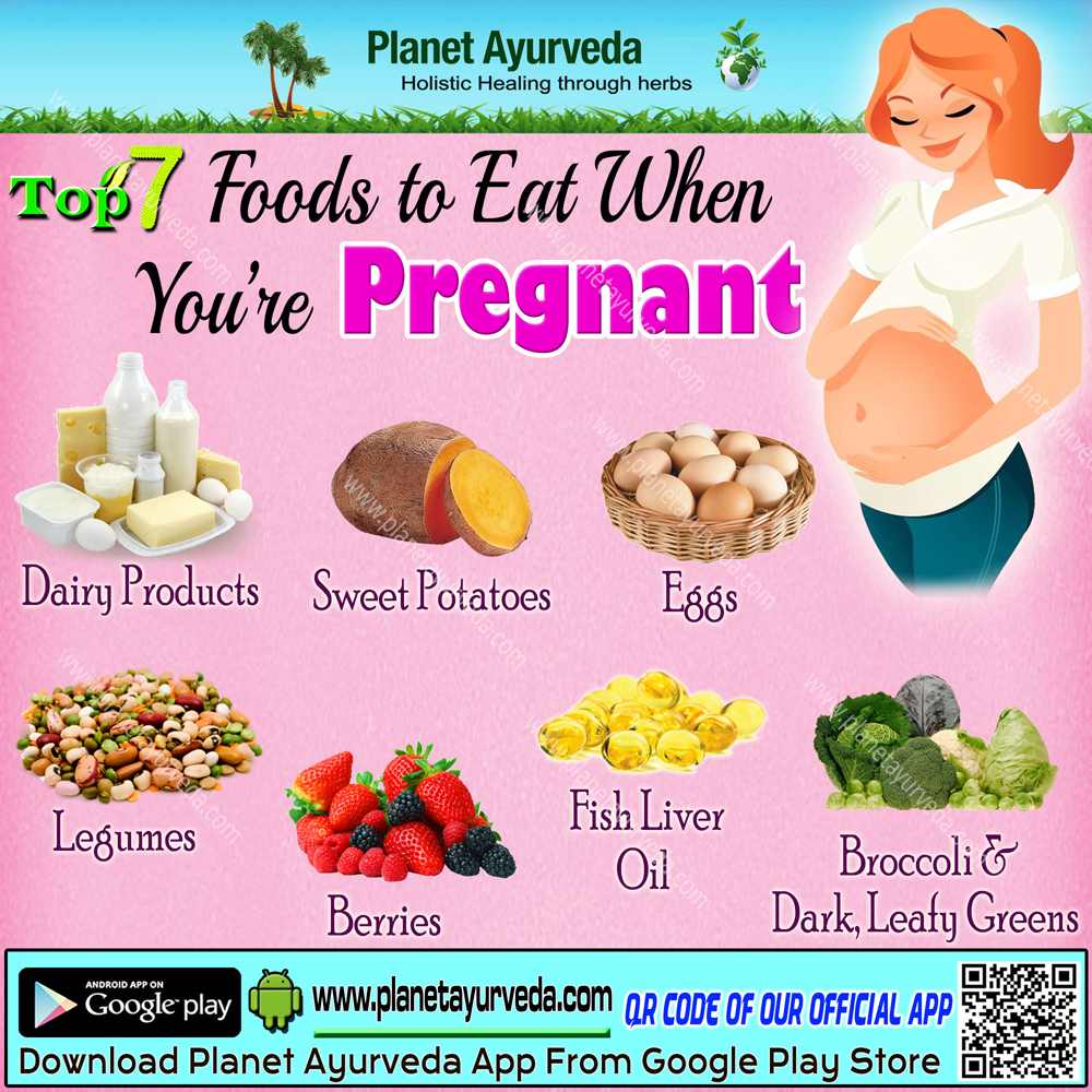 Top 7 Foods to Eat During Pregnancy