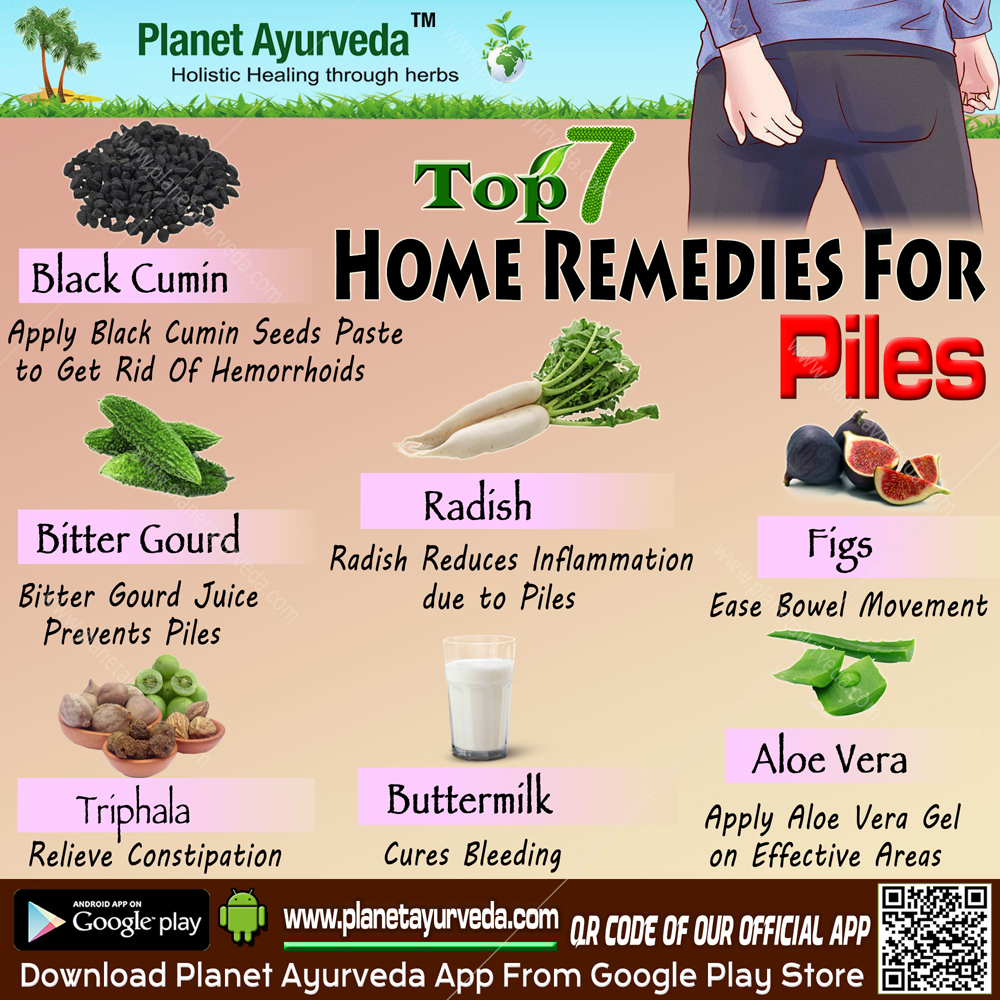 Top 7 Home Remedies for Piles