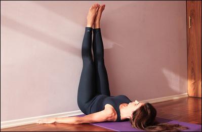 Viparita Karani, Legs up the Wall Pose
