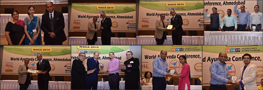 Dr. Vikram Chauhan (MD-Ayurveda) during World Ayurveda Conference, Ahmedabad (WACA 2019)
