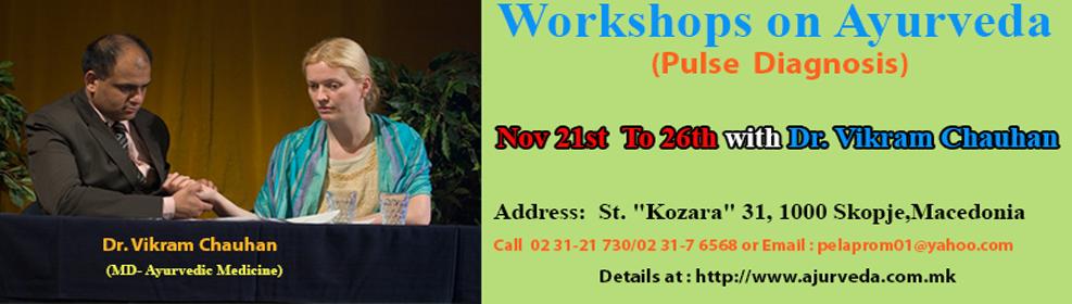 Workshop on Ayurveda, Pulse Diagnosis