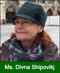 Ms. Divna Shipovikj