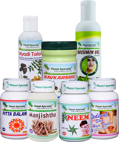 Planet Ayurveda provides best combination of effective herbal remedies such as PSORA Care Pack for ayurvedic and natural treatment of psoriasis.