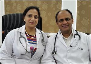 Dr. Vikram Chauhan and Dr. Meenakshi Chauhan