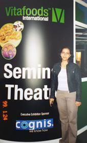 Dr. Meenakshi Chauhan in Vitafoods international, Switzerland